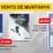 Vents librería: rutas con esquís