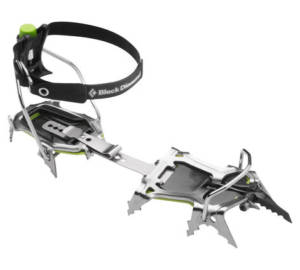 crampon stinger black diamond