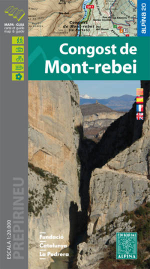 CONGOST DE MONT-REBEI EDITORIALES ALPINO