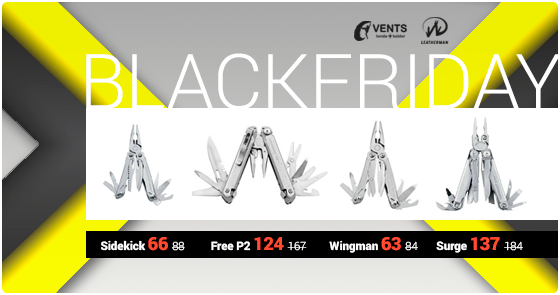 navajas leatherman vents de muntanya black friday