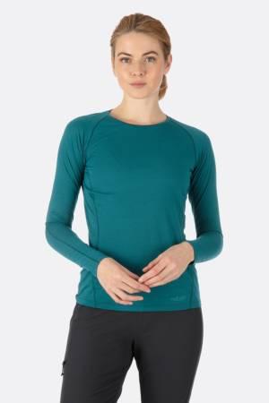 camiseta merino rab forge mujer